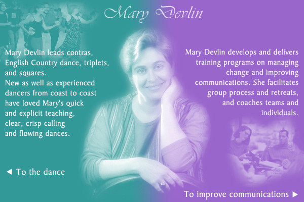 Mary Devlin introductory page